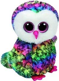 Pliušinis žaislas TY Beanie Boos Multicolor Owl, 24 cm