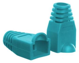 Netrack Boot for RJ45 8P Plug x 100 Green