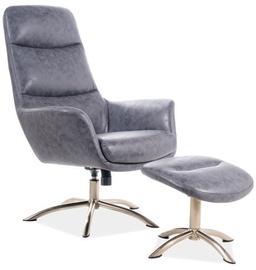 Fotelis Signal Meble Nixon Grey, 73x68x110 cm