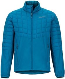 Marmot Mens Featherless Hybrid Jacket Maroccan Blue XL
