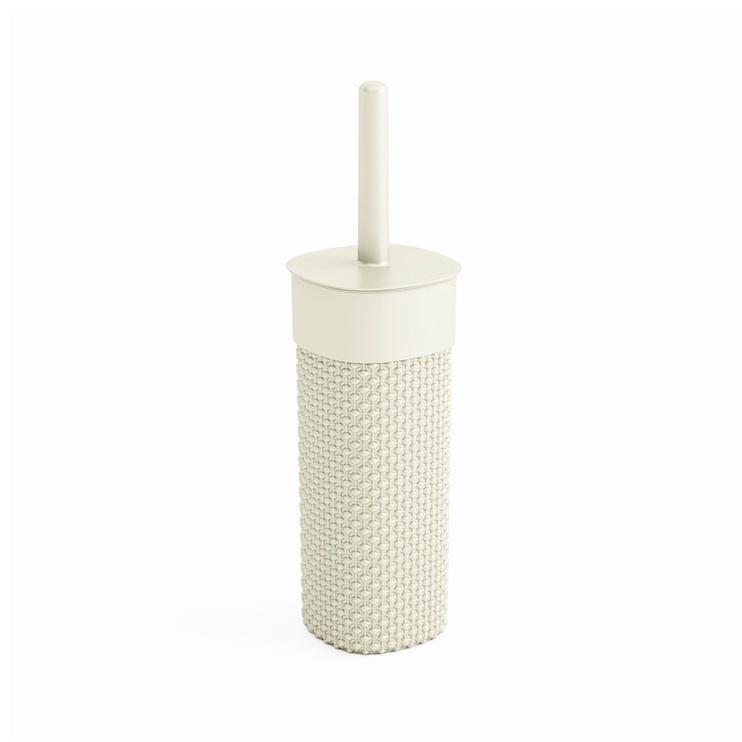 Kis Filo Romantic Toilet Brush 11.5x11.5x40cm White