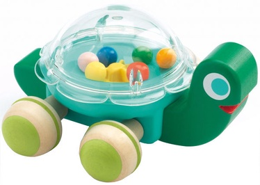 Djeco Early Development Toys Lola Turtle Rattle