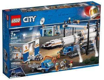 Конструктор LEGO City Rocket Assembly & Transport 60229, 1054 шт.