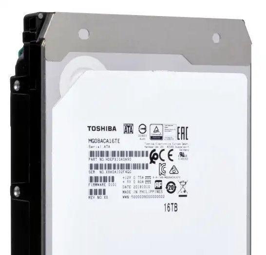 Toshiba MG08 16TB 7200RPM 256MB SATAIII MG08ACA16TE