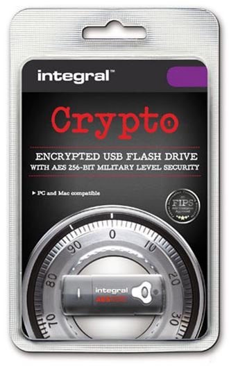 Integral Crypto Dual Fips 197 Black 4GB