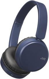 JVC HA-S35BT Bluetooth On-Ear Headset Blue