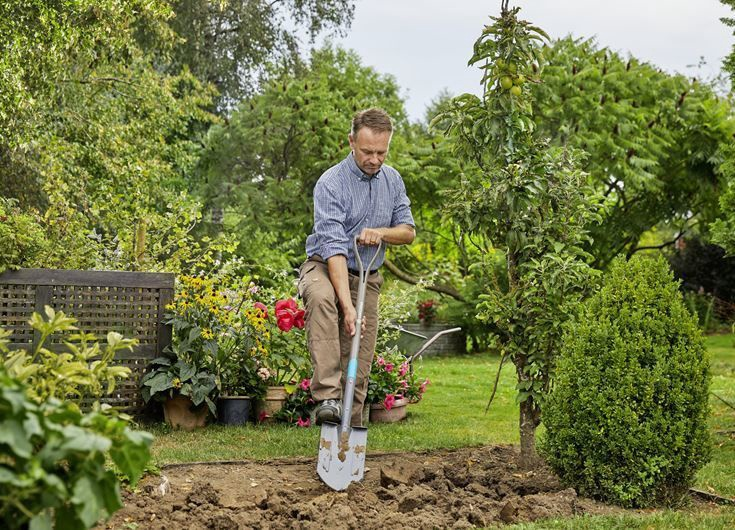 Лопата Gardena NatureLine Spitz 17001-20