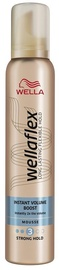 Wella Wellaflex Instant Volume Boost Hair Mousse 200ml Strong Hold