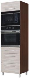Bodzio Loara Oven & Microwave Cabinet Latte/Nut