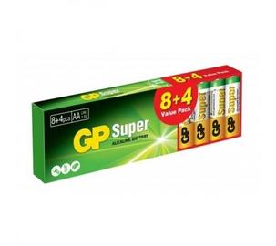 Elementai GP Super Alkaline AA, 8+4 vnt.