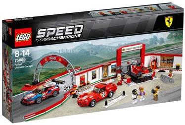 Konstruktorius LEGO Speed Champions Ferrari Ultimate Garage 75889