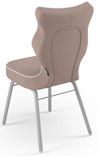 Детский стул Entelo Solo Size 5 JS08, серый/кремовый, 390 мм x 850 мм