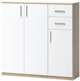 WIPMEB Tatris 06 Chest Of Drawers Sonoma Oak/White