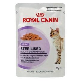 Royal Canin Sterilised Cat Meat In Gravy 85g