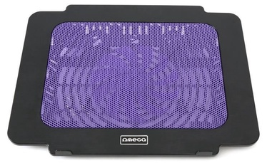 Omega Laptop Cooling Pad 9\˜-17'' Black/Violet