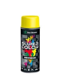 Aerosola krāsa Den Braven Universal, 400ml, spīdīga, melna