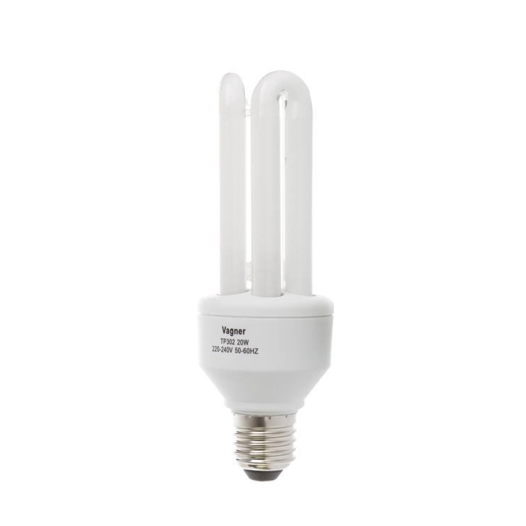 Kompaktinė liuminescencinė lempa Vagner SDH T4, 20W, E27, 2700K, 1170lm