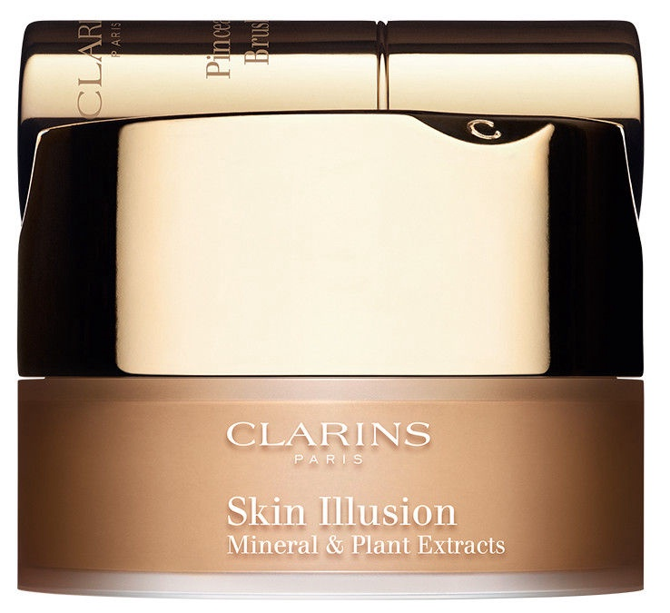 Biri pudra Clarins Skin Illusion Mineral & Plant Extracts 114, 13 g