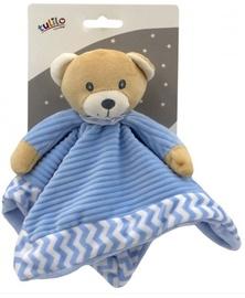 Игрушка для сна Tulilo Teddy Bear 5124A, кремовый/голубой