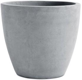 Keter Beton Planter Round L Light Grey