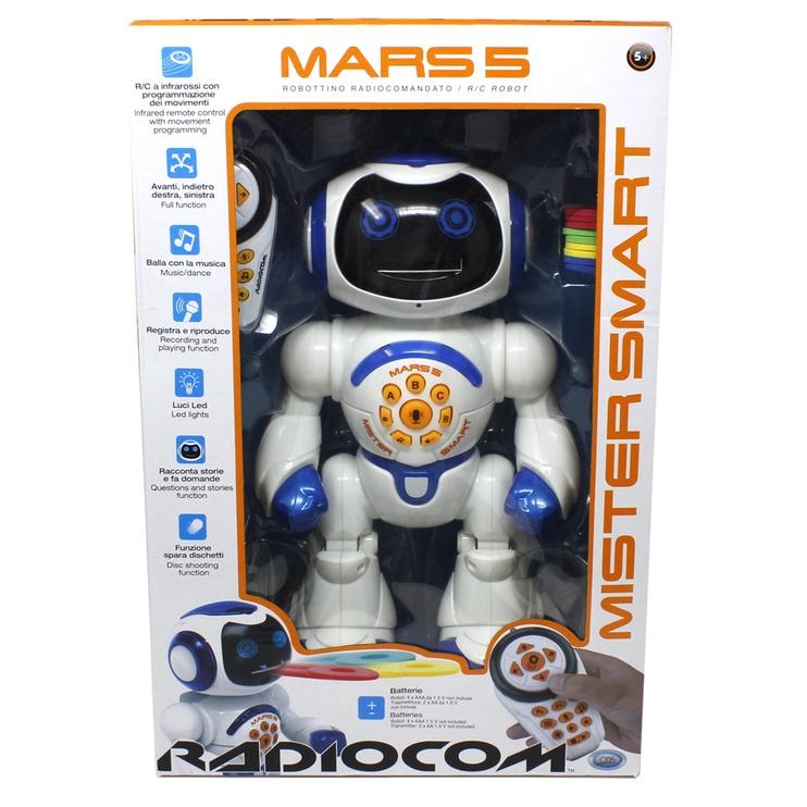 Игрушечный робот Radiofly Radiocom Mars 40955