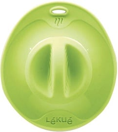 Lekue Transparent Suction Lid 25cm Green