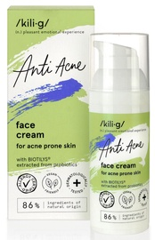 KILIG Anti Acne sejas krēms pūtītēm pakļautai ādai 50ml