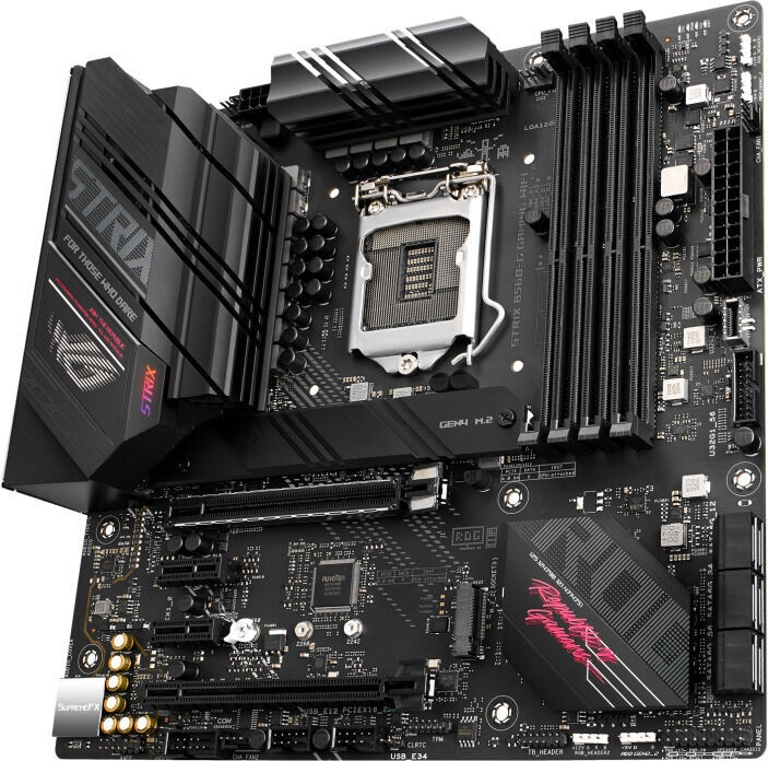 Mātesplate Asus ROG STRIX B560-G GAMING WIFI