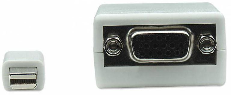 Techly Adapter Mini Displayport to VGA White 0.15m