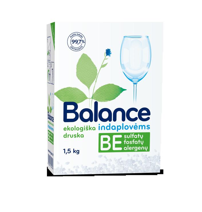 Соль для посудомоечной машины Balance, 1.5 кг