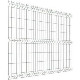 Tvoros segmentas, 2500 x 1730 x 4 mm, sidabro spalvos