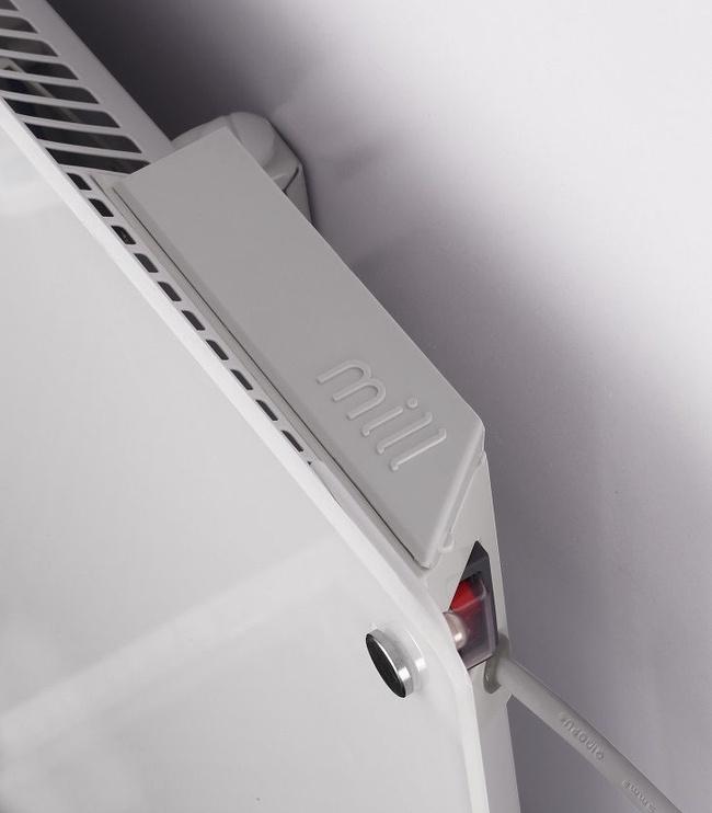 Mill Panel Heater Glass MB900 DN Grey