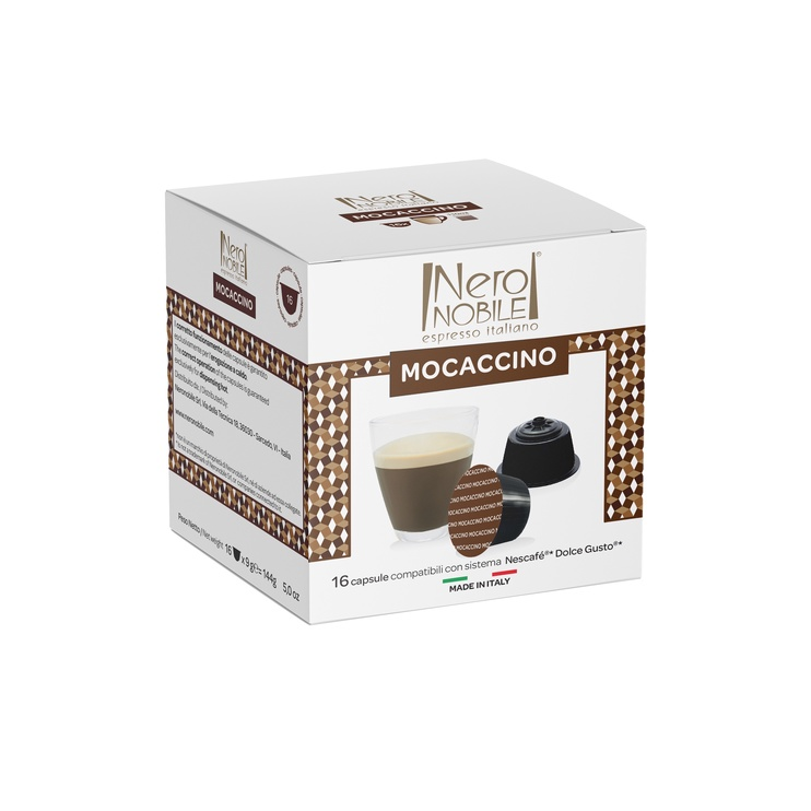 Кофе в капсулах NeroNobile Dolce Gusto Mocaccino, 16 шт.
