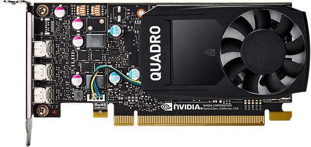 Vaizdo plokštė Dell Quadro P400 490-BDTB 2 GB GDDR5