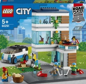Конструктор LEGO City Современный дом для семьи 60291, 388 шт.