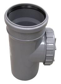 Kanalizācijas caurules revīzija Wavin D110mm, PVC