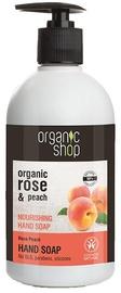 Organic Shop Rose Peach Nourishing Hand Soap 500ml