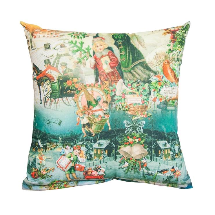 Home4you Xmas Story Pillow 45x45cm