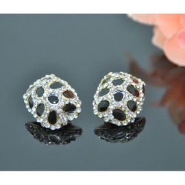 Vincento Clip On Earrings With Stellux Crystal LE-1114