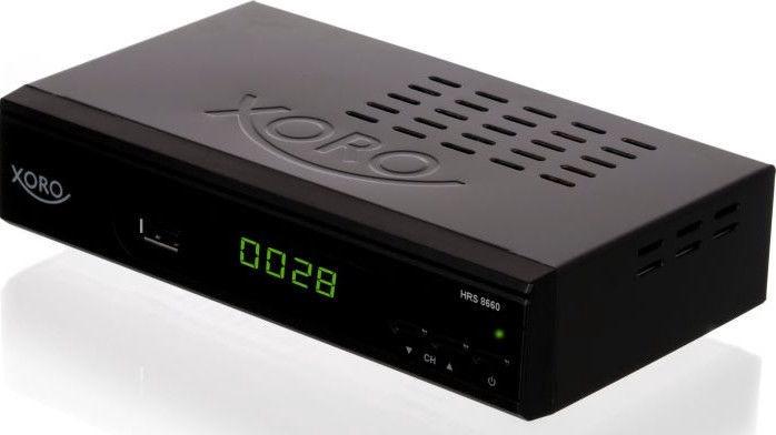 Xoro HRS 8660 Smart Black