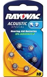 Varta Acoustic Special Button Battery PR70 6x