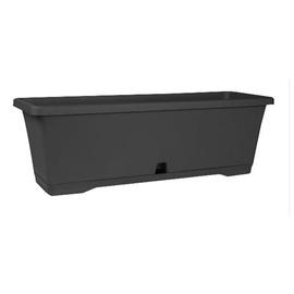 Plastic pot DOMOLETTI, TBTISB50-120, Ø 50 cm, anthracite