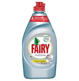Indų ploviklis Fairy Platinum Lemon&Lime, 430 ml
