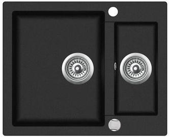 Teka Clivio 60 S-TQ Sink Onyx Black