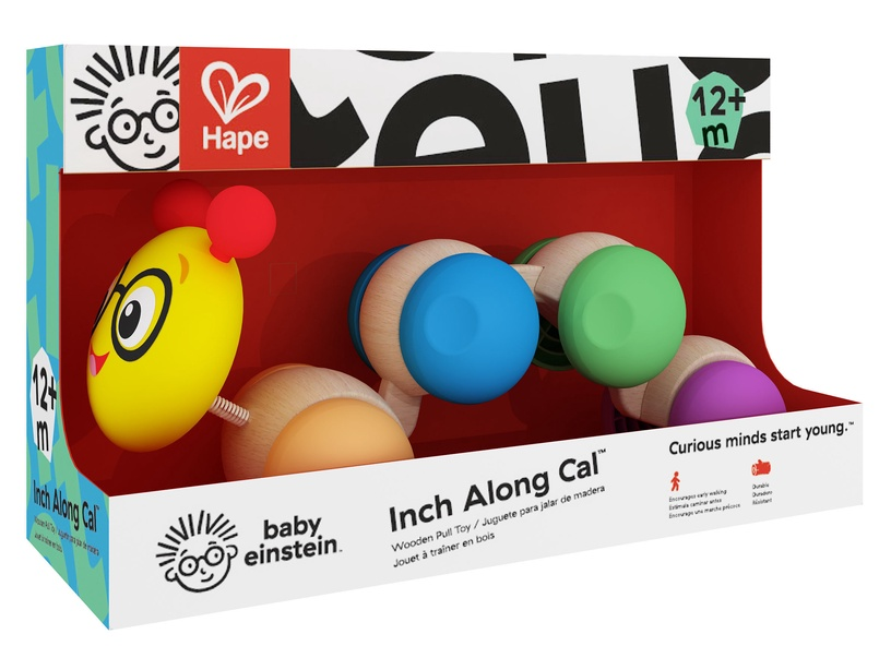 Hape Inch Along Cal Wooden Pull Toy 800807