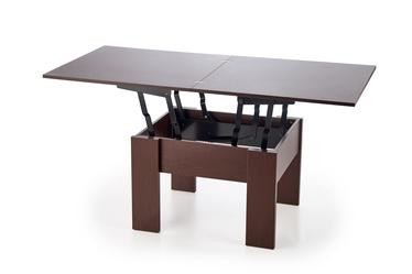 Kafijas galdiņš Halmar Serafin Dark Walnut, 800 - 1600x800x530 - 790 mm