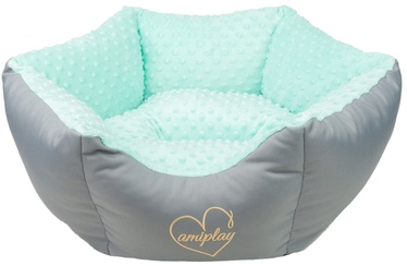 Amiplay Babydoll Crown Bed M 58x23cm Mint