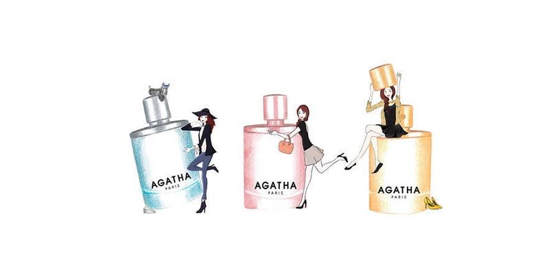 Набор для женщин Agatha Un Soir A Paris 100 ml EDT + Bracelet