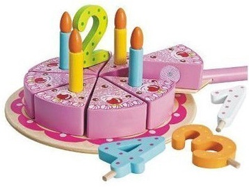 Eichhorn Wooden Birthday Cake 41372