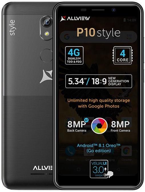 Allview P10 Style Dual Black